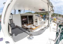 Admiral 40 Catamaran EVENFLOW deck