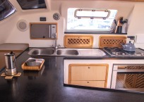 Admiral 40 Catamaran EVENFLOW galley