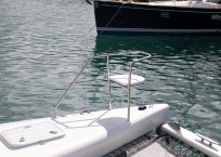 Admiral 40 Catamaran EVENFLOW bow seat