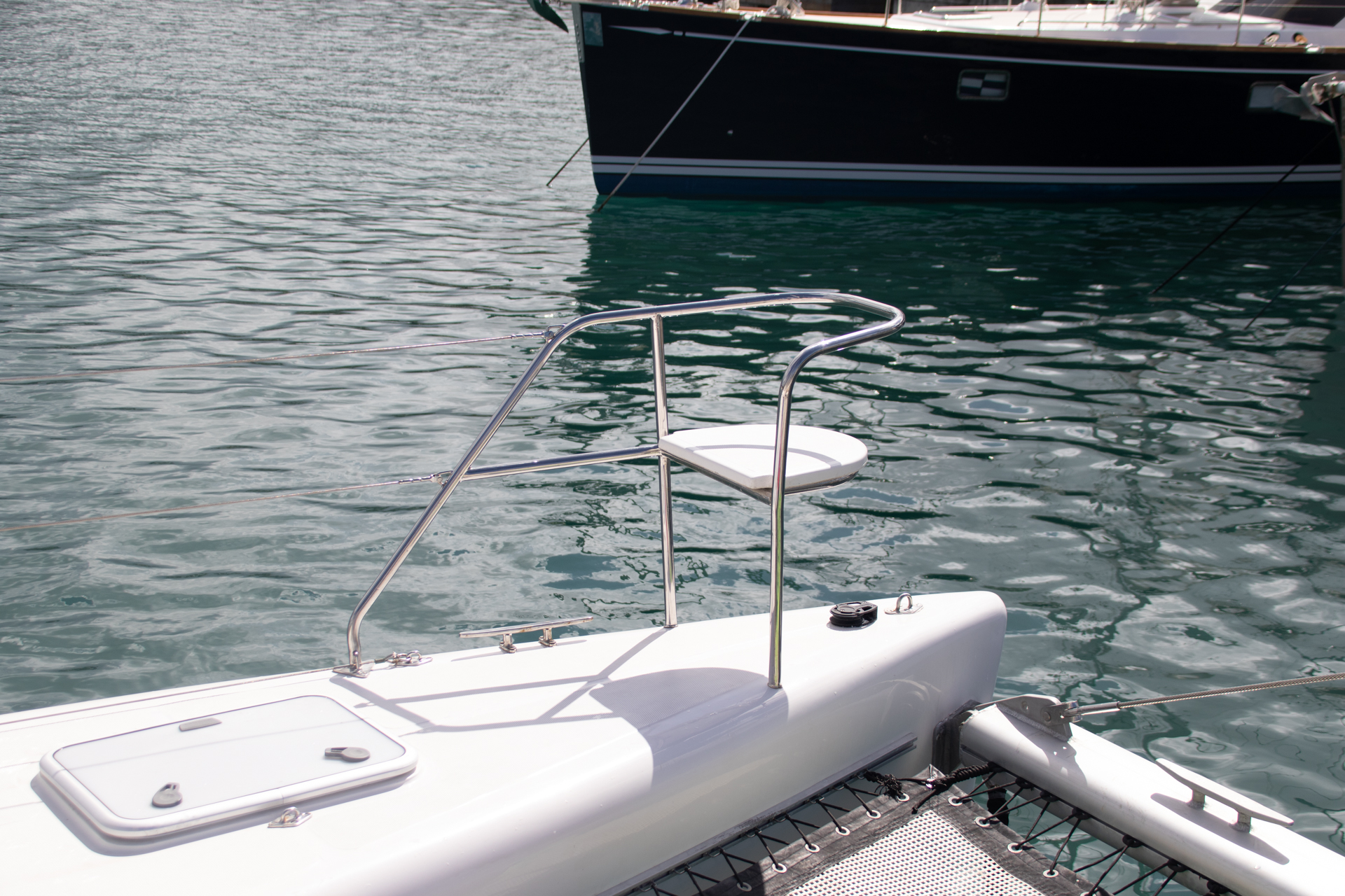 Admiral 40 Catamaran EVENFLOW bow seat