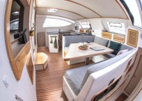 Admiral 40 Catamaran EVENFLOW salon