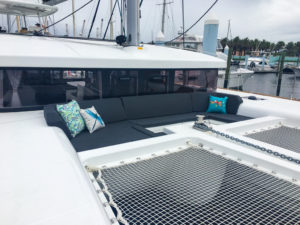 Lagoon 450S Catamaran KHALEESI bow seating