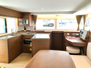 Lagoon 450S Catamaran KHALEESI galley