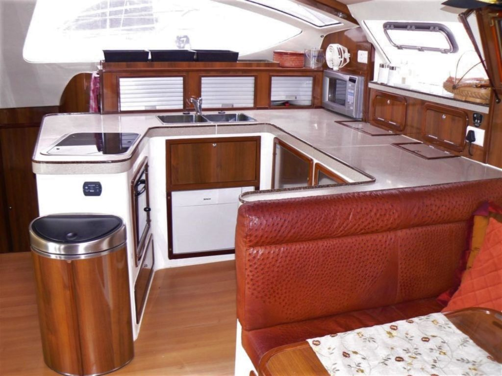 Admiral 40 Catamaran galley