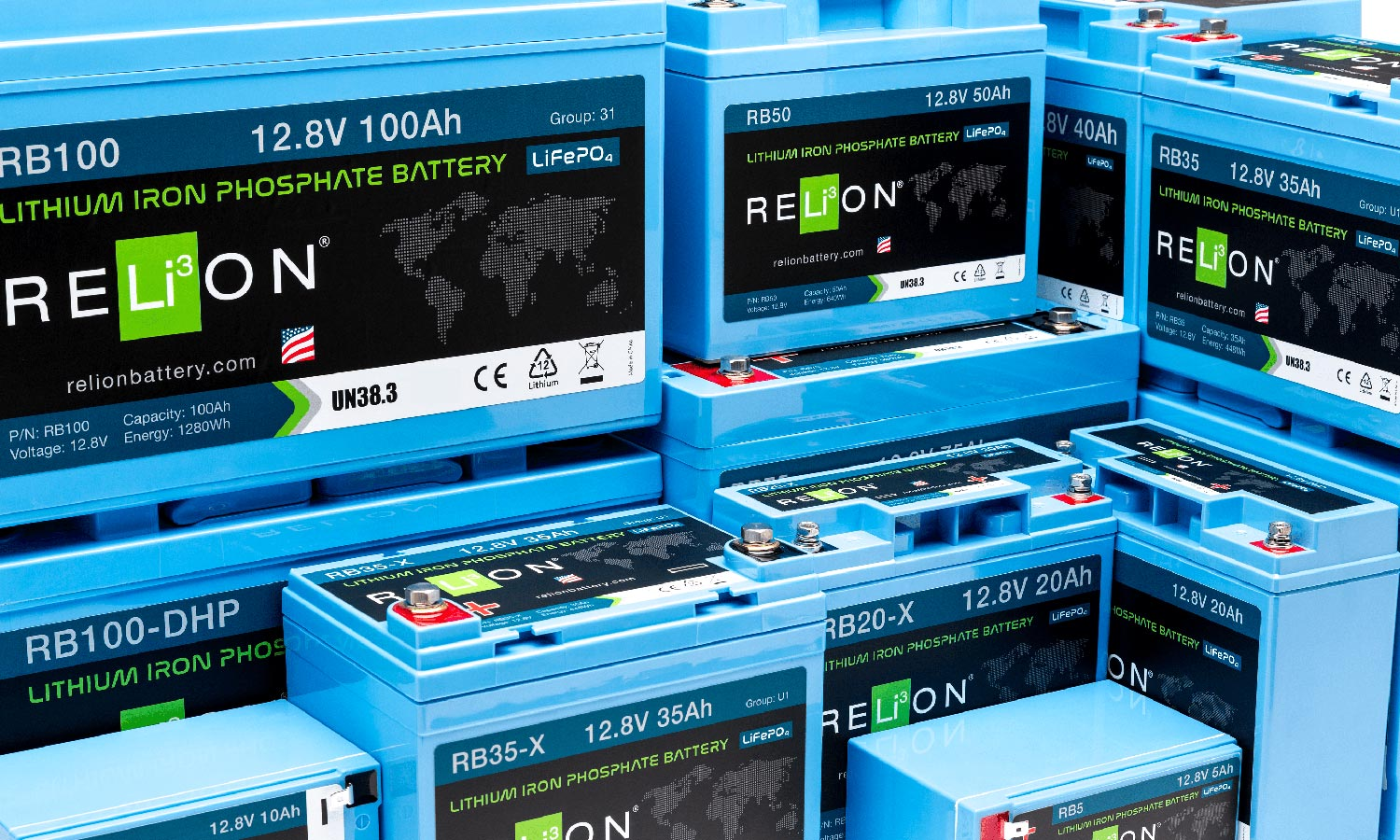 Relion lithium battery catamaran