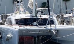 Outremer 45 Catamaran service and upgrades
