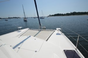 Leopard 38 Catamaran PANTHERA Sold - bow
