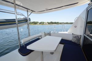 2010 Leopard 38 Catamaran PANTHERA Sold - cockpit
