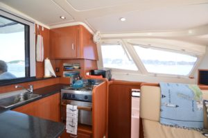 2010 Leopard 38 Catamaran PANTHERA Sold - galley