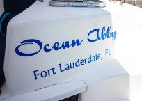 2014 Leopard 39 Catamaran OCEAN ABBY name