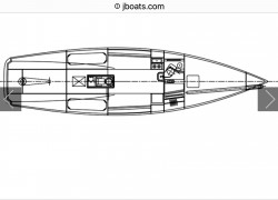 J Boats J/125 Sailboat for sale layout