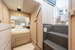 Leopard 40 Catamaran NEW FORTUNE cabin