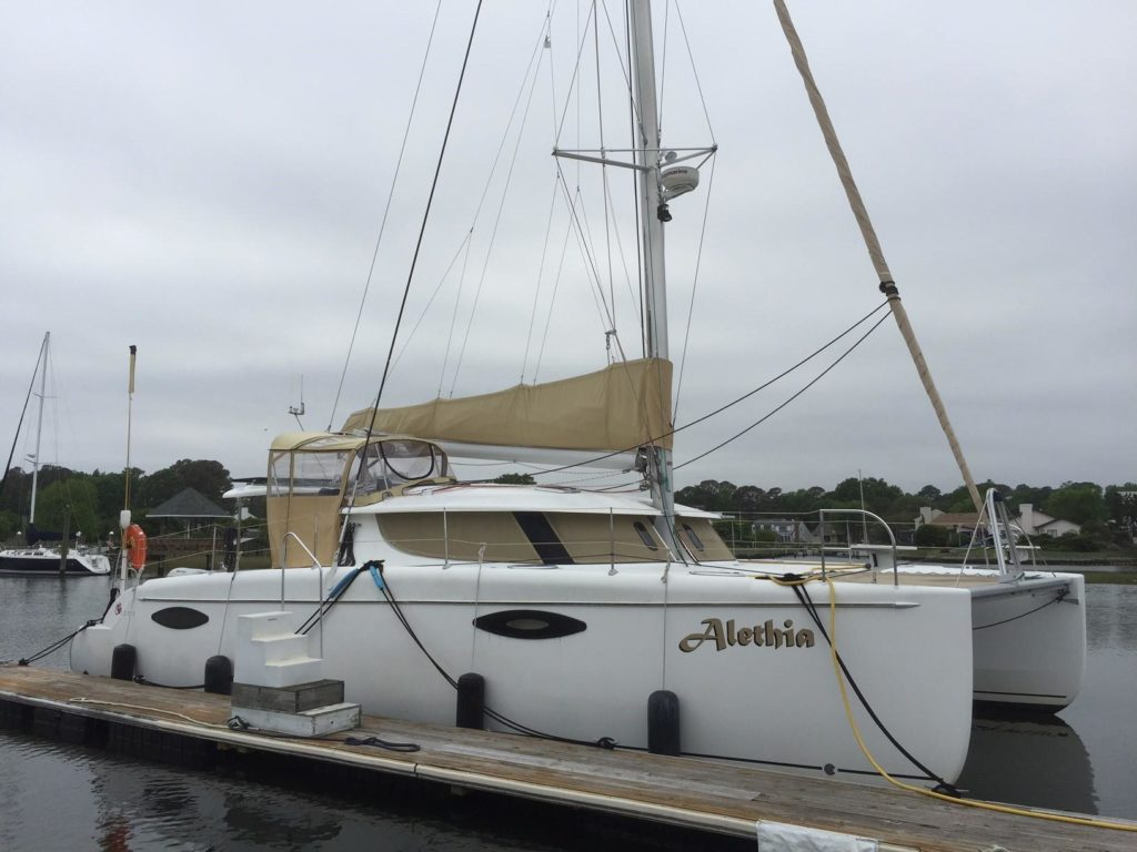 Fountaine Pajot Orana 44 Catamaran sold