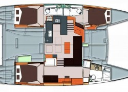 2014 Fountaine Pajot Helia 44 Catamaran Owners Version