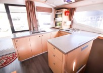 Fountaine Pajot Helia 44 Catamaran galley
