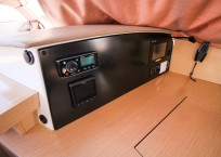 Fountaine Pajot Helia 44 Catamaran nav station