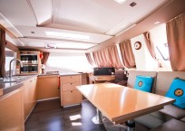 Fountaine Pajot Helia 44 Catamaran helm