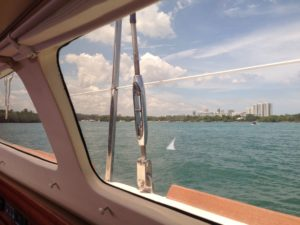Gemini Legacy 35 Catamaran window