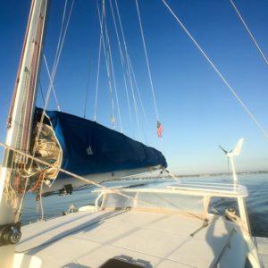 Dolphin 460 Catamaran MORRIGAN mainsail