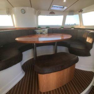 Dolphin 460 Catamaran MORRIGAN salon