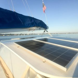 Dolphin 460 Catamaran MORRIGAN sold solar
