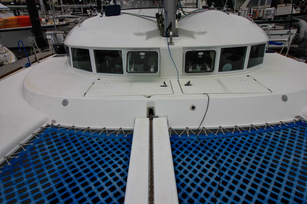 Lagoon 410 S2 Catamaran AT LAST bow