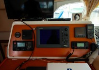 Lagoon 410 S2 Catamaran AT LAST nav station