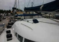 Lagoon 410 S2 Catamaran AT LAST starboard
