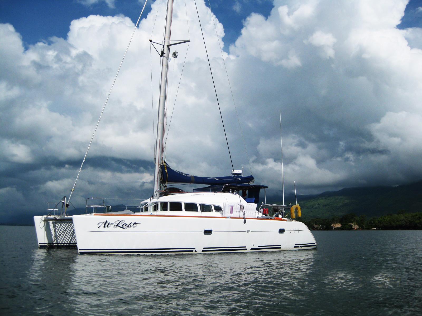 Lagoon 410 S2 Catamaran AT LAST