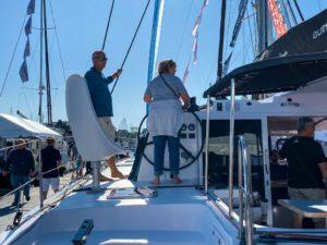 Outremer 45 Catamaran LA VAGABONDE