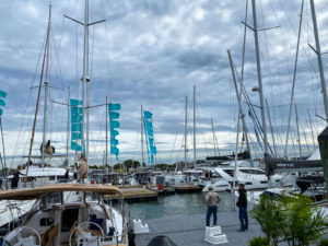 2019 Annapolis sailboat show