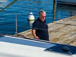 Outremer Catamarans Matthieu at LA VAGABONDE