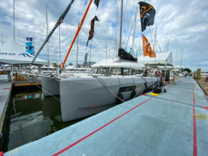 Excess Catamaran at 2019 Annapolis Boat Show