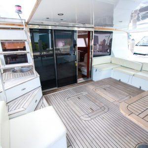 2006 Sunreef 62 Catamaran aft deck