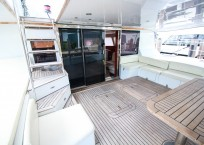 2006 Sunreef 62 Catamaran aft deck