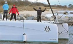 Outremer 45 Catamaran LA VAGABONDE sailing with Greta Thunberg