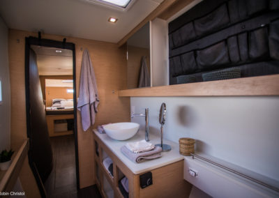 Outremer Catamaran 4X photo 20 interior bathroom