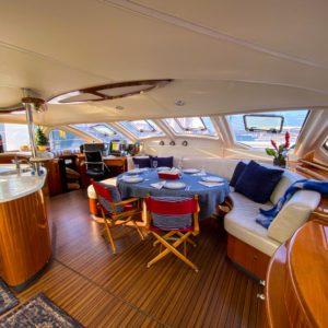 Catana 582 Catamaran for sale salon