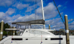 Leopard 48 Catamaran sold by Just Catamarans