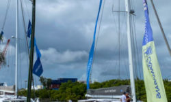 3rd Annual Catamaran Show VIP Event with Outremers on display