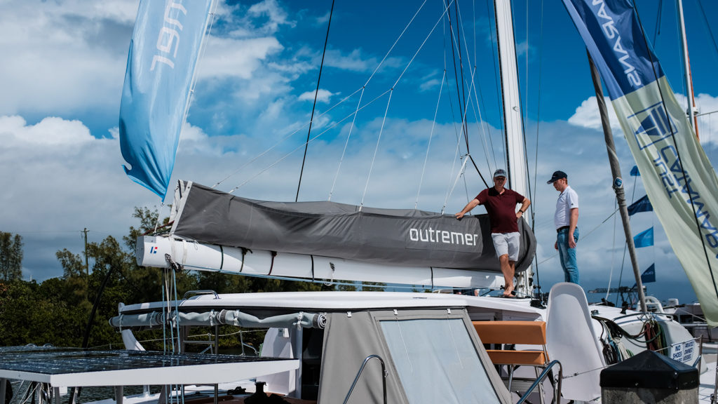 3rd Annual Catamaran Show VIP Event with Outremer brokers