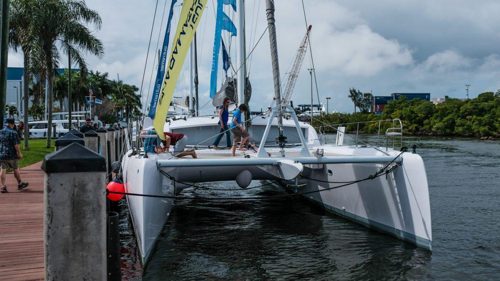 3rd Annual Catamaran Show VIP Event Outremer Catamarans