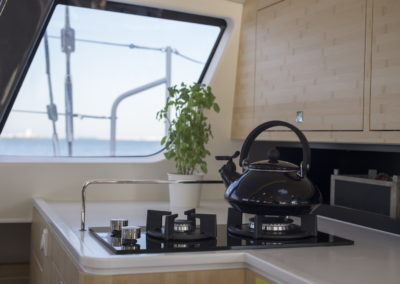 Outremer 51 Performance Cruising Catamaran - galley stove top