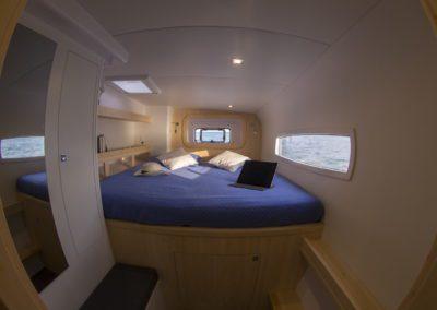 Outremer 51 Performance Cruising Catamaran - master cabin