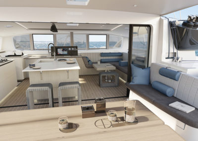 Outremer-55-performance-catamaran-aft-deck