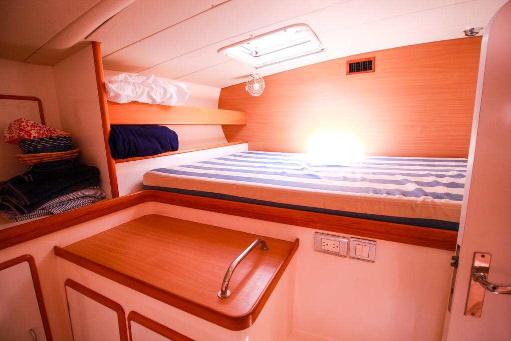 Leopard 47 Catamaran cabin