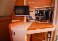 Leopard 47 Catamaran nav statin