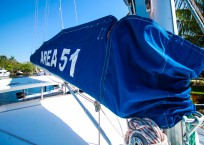 Leopard 47 Catamaran sailbag
