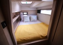 Leopard 43 Power Catamaran for sale - guest cabin