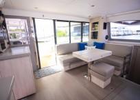 Leopard 43 Power Catamaran for sale - salon